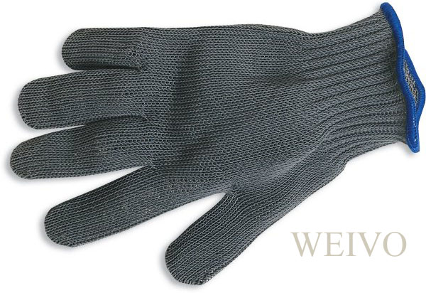 Steel mesh glove for Fish cleaning gloves